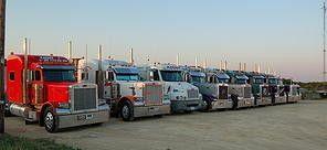 fleet of experienced owner operators