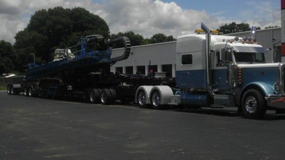 Fred's 9 Axle Hauling Drill