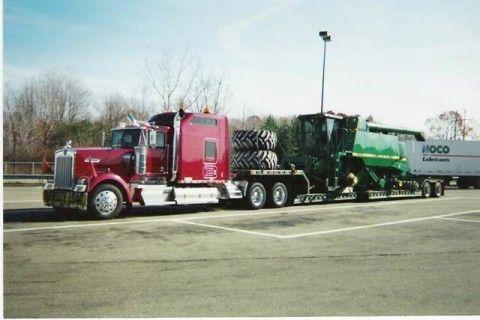 Heavy Equipment Load