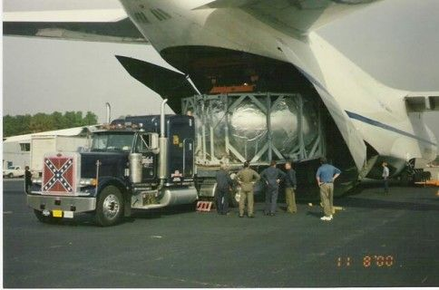 Wide Load Direct From Cargo Plane