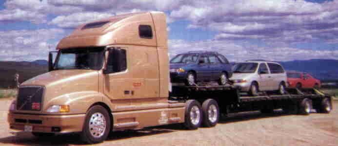 Stepdeck Hauling Vehicles