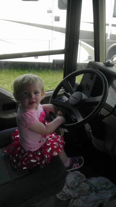 Our Youngest Driver (Granddaughter)
